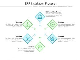 ERP Installation Process Ppt Powerpoint Presentation Professional Slide Download Cpb