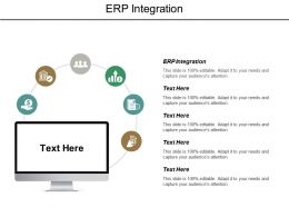 ERP Integration Ppt Powerpoint Presentation Outline Portrait Cpb