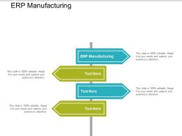 ERP Manufacturing Ppt Powerpoint Presentation Pictures Deck Cpb