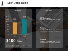 Erp Optimization Ppt Powerpoint Presentation Model Visual Aids Cpb