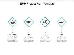 ERP Project Plan Template Ppt Powerpoint Presentation Pictures Ideas Cpb