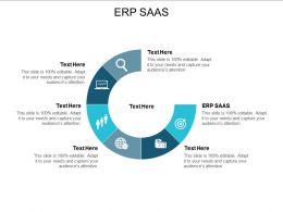 ERP SAAS Ppt Powerpoint Presentation Slides Gridlines Cpb