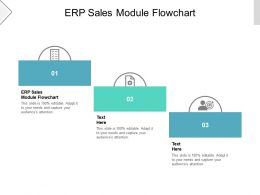 ERP Sales Module Flowchart Ppt Powerpoint Presentation Gallery Graphics Tutorials Cpb