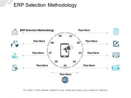Erp Selection Methodology Ppt Powerpoint Presentation Layouts Clipart Cpb