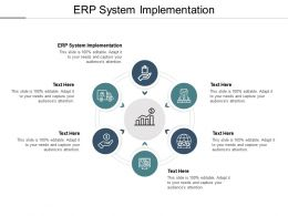 ERP System Implementation Ppt Powerpoint Presentation Guide Cpb