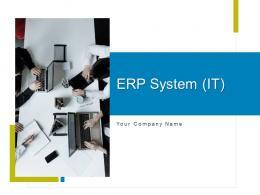 ERP System It Powerpoint Presentation Slides