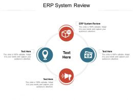 ERP System Review Ppt Powerpoint Presentation Model Design Templates Cpb