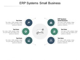 ERP Systems Small Business Ppt Powerpoint Presentation Layouts Influencers Cpb