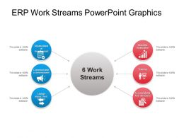 Erp Work Streams Powerpoint Graphics