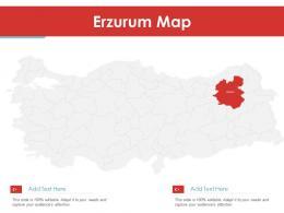 Erzurum Map Powerpoint Presentation PPT Template