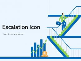 Escalation Icon Business Professional Arrow Revenue Growth Management