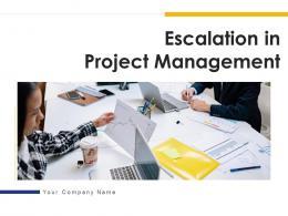 Escalation In Project Management Powerpoint Presentation Slides