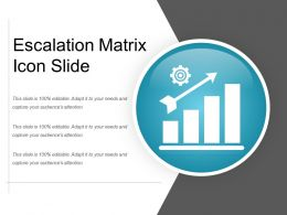 Escalation Matrix Icon Slide