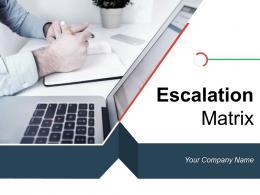 Escalation Matrix Incident Information Technology Maintenance Communication