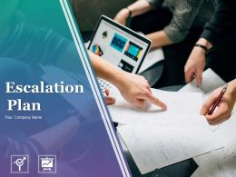 Escalation Plan Powerpoint Presentation Slides