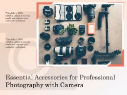 Essential Accessories For Professional Photography With Camera