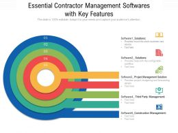 Essential Contractor Management Softwares With Key Features