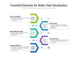 Essential Elements For Better Data Visualization