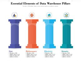 Essential Elements Of Data Warehouse Pillars