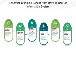 Essential Intangible Benefit From Development Of Information System