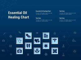 Essential Oil Healing Chart Ppt Powerpoint Presentation Pictures Graphics