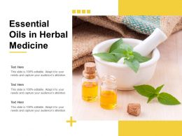 Essential Oils In Herbal Medicine