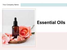 Essential Oils Treatment Medicinal Flowers Eucalyptus Representing