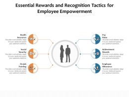 Essential Rewards And Recognition Tactics For Employee Empowerment