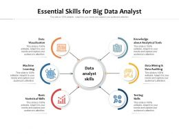Essential Skills For Big Data Analyst