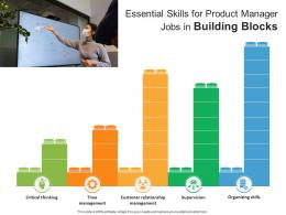 Essential Skills For Product Manager Jobs In Building Blocks