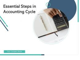 Essential Steps In Accounting Cycle Trial Balance Record Transactions Posting