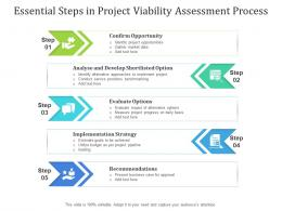 Essential Steps In Project Viability Assessment Process