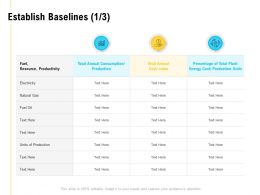 Establish Baselines Process Ppt Powerpoint Presentation Designs Download