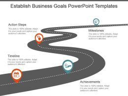 Establish Business Goals Powerpoint Templates