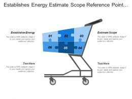 Establishes Energy Estimate Scope Reference Point Detailed Study