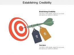 Establishing Credibility Ppt Powerpoint Presentation Infographic Template Example File Cpb