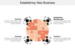 Establishing New Business Ppt Powerpoint Presentation Gallery Professional Cpb