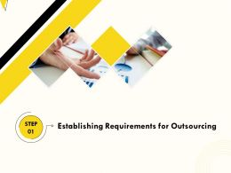 Establishing Requirements For Outsourcing M378 Ppt Powerpoint Presentation Icon