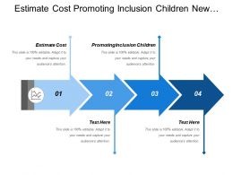 Estimate Cost Promoting Inclusion Children New Work City