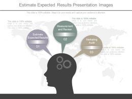 Estimate Expected Results Presentation Images