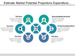 estimate_market_potential_projections_expenditure_distribution_channels_required_Slide01