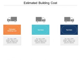 Estimated Building Cost Ppt Powerpoint Presentation Layouts Graphic Tips Cpb