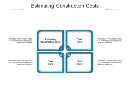 Estimating Construction Costs Ppt Powerpoint Presentation Model File Formats Cpb