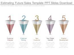 Estimating Future Sales Template Ppt Slides Download