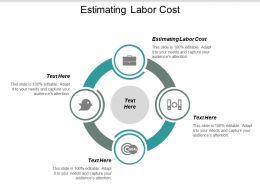 Estimating Labor Cost Ppt Powerpoint Presentation Portfolio Guide Cpb