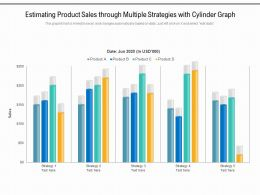 Estimating Product Sales Through Multiple Strategies With Cylinder Graph