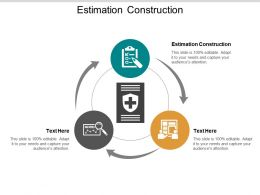 Estimation Construction Ppt Powerpoint Presentation File Ideas Cpb