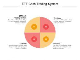 ETF Cash Trading System Ppt Powerpoint Presentation Inspiration Topics Cpb