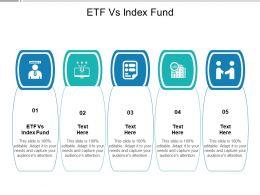ETF Vs Index Fund Ppt Powerpoint Presentation Portfolio Deck Cpb