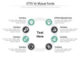 ETFS Vs Mutual Funds Ppt Powerpoint Presentation Inspiration Portfolio Cpb